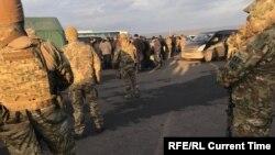 """Украина, Дозанера """"Майорское"""" чекхволуьйту пункт."""