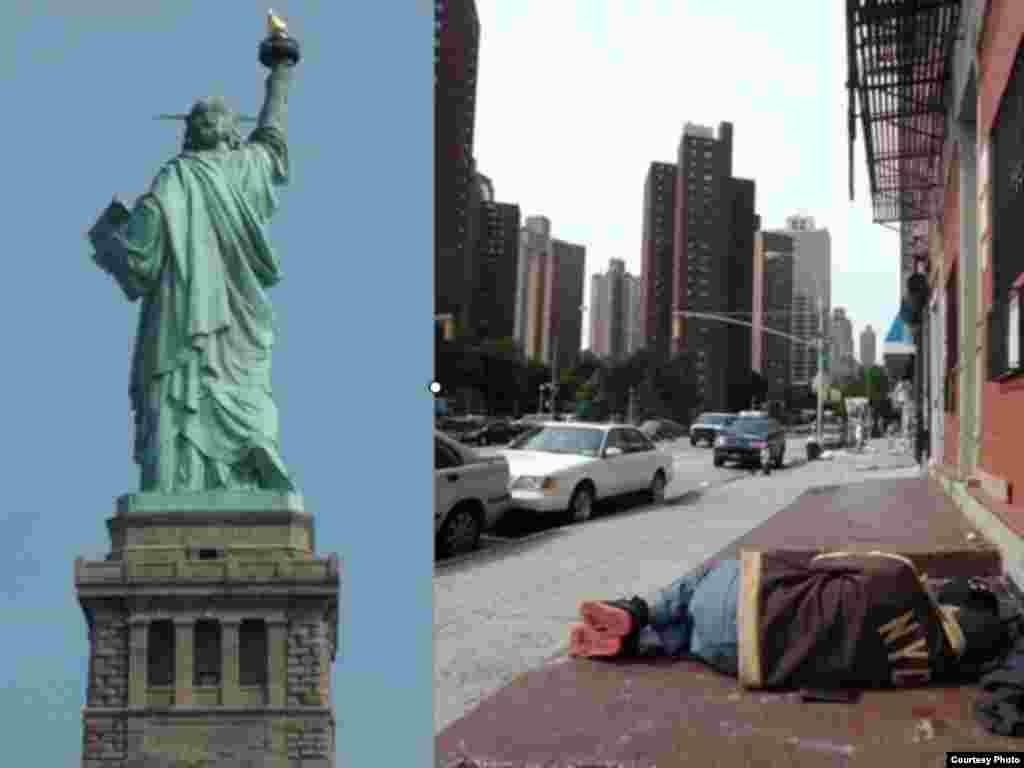 NY\Lukash - …а к кому-то стоит спиной и отсюда ее рука, кажется, показывает совсем другой жест.