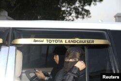 Саудовские женщины в машине. Джедах, 17 июня 2011 года.