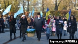 Amet-Han Sultan doğğanınıñ 97 yıllığı, Kyiv, 2017 senesi oktâbrniñ 25