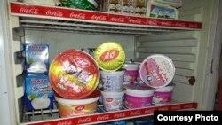 بضائع ايرانية في محل في بغداد