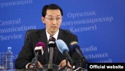 Қазақстан ауыл шаруашылығы министрінің орынбасары Мүсілім Өміраев. Астана, 6 тамыз 2013 жыл.