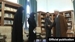 آیت الله رفسنجانی در دیدار با نمایندگان انجمن اسلامی دانشجویان دانشگاه تهران و علوم پزشکی