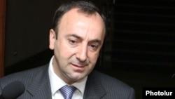 Արդարադատության նախարար Հրայր Թովմասյանը: