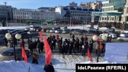 Митинг КПРФ 23 февраля в 2018 году