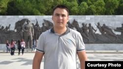 Анкарада тұратын қазақстандық студент Мырзахан Байдолов.