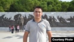 Живущий в Анкаре студент из Казахстана Мырзахан Байболов.