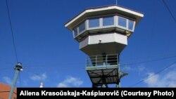 Вышка тюрьмы Леопольдов - самой большой в Словакии