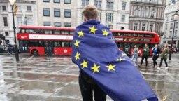 La o demonstrație ant-Brexit la Londra