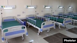 Armenia - A newly renovated hospital in Gyumri, 7Apr2012.