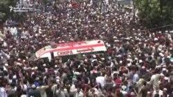 Thousands Mourn Slain Pakistani Singer
