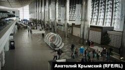 Новый терминал аэропорта Симферополя