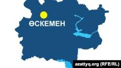 Карта Восточно-Казахстанской области. Иллюстративное фото.