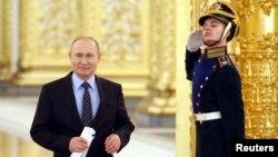 Владимир Путин в Кремле. 21 декабря 2017 года