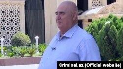 """""""Şərurlu İsfəndiyar"""" kimi tanınan işadamı İsfəndiyar Axundov (foto criminal.az saytından götürülüb)."""