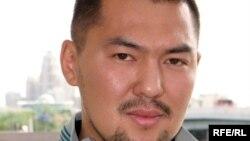 Аслбек Мусин, лидер организации «Изги амал». Астана, 23 августа 2009 года.