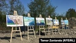 Презентация проекта строительства порта Анаклия, апрель 2018 г.