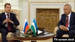 Rossiya prezidenti O'zbekistonda bo'lib qaytganidan ko'p o'tmay, perzident Karimov yana bir Kreml mulozimini qabul qildi.