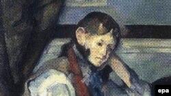 اثر سزان از جمله چهار آثار دزدیده شده است. عکس از خبرگزاری اپا.