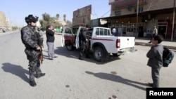 تفتيش المركبات في بغداد