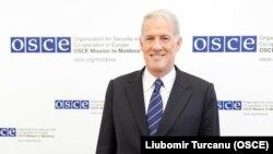 Ambasadorul Michael Scanlan. (OSCE/Liubomir Turcanu)