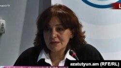 Sona Ayvazyan, deputy director of Transparency International's Anticorruption Center in Armenia (file photo)