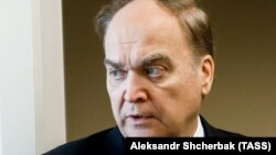 Russian Ambassador to the U.S. Anatoly Antonov is on the sanctions list.