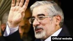 Иранскиот опозициски лидер Мир Хосеин Мусави.