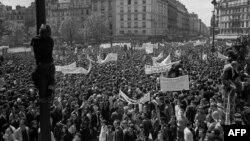 Fransa - Tələbə etirazları, May, 1968