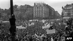 Студенческие демонстрации во Франции в мае-июне 1968 года