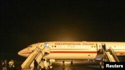 Самолет, на котором летал польский президент
