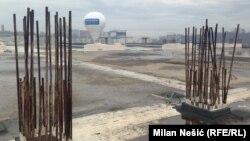 Prostor predviđen za gradnju stanične zgrade
