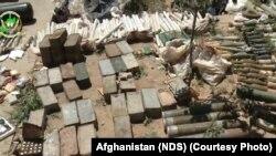 مهمات بدست آمده از نزد هسته مشترک گروه داعش و شبکۀ حقانی در سه عملیات در ولایت کابل.
