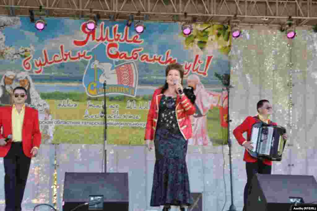 Russia -- Scene of Sabantuy, Tatar folk festival in Samara, 15Jun2013