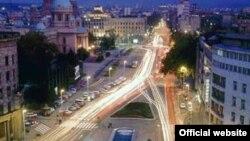 Belgrade noću, arhivski snimak