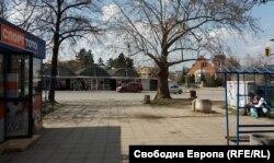 """От другата страна на ул. """"Александър Пушкин"""" се намират пазарът и спирката """"Павлово"""""""