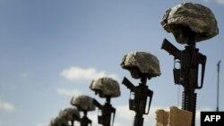 Memorial la locul atentatului de la Fort Hood