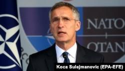 Генеральный секретарь НАТО Йенс Столтенберг. Архивное фото.