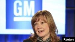 Mary Barra, drejtoresh ekzekutive e General Motors