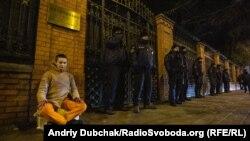 #FreeHongKong під китайським посольством у Києві – фоторепортаж