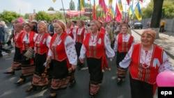 Киевтегі 1 мамыр шеруі. 1 мамыр 2014 жыл.