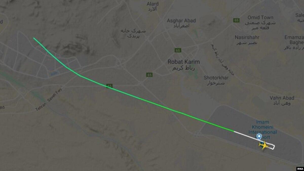 Украинский самолет со 180 пассажирами на борту разбился в Иране – СМИ