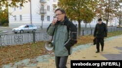 Адзіночная ацыя Рамана Кісьляка.
