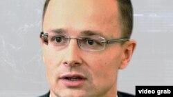 Унгарскиот министер за надворешни работи Петер Сијарто