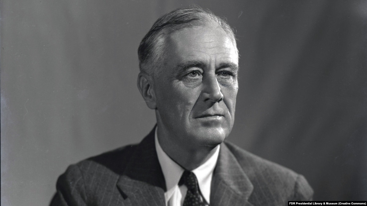 """franklin delano roosevelt """"only thing we have to fear is fear itself"""": fdr's first inaugural address franklin d roosevelt had campaigned against herbert hoover in the 1932 presidential."""