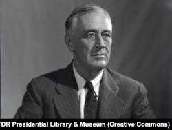 'Za Roosevelta (na fotografiji) možemo reći da je u nekoliko navrata govorio o nemogućnosti zajedničkog života Srba i Hrvata. Predviđao je nekakav hrvatski provizorij, koji bi zadovoljio težnje Hrvata za nezavisnošću. Ali, to je sve ostalo na papiru.'