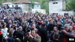 Македонци во Албанија - Голо Брдо