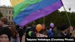 Акция ЛГБТ-сообщества в Петербурге