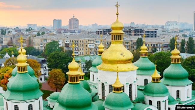 Куполи Софії Київської