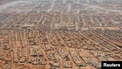 Սիրիացի փախստականների Զաաթարի ճամբարը Հորդանանում, արխիվ